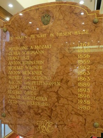 Kaiserin Elisabeth : Famous visitors