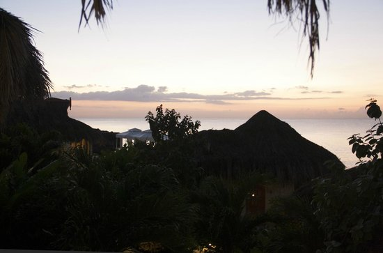 The SPA Retreat Boutique Hotel: View from our balcony at sunset