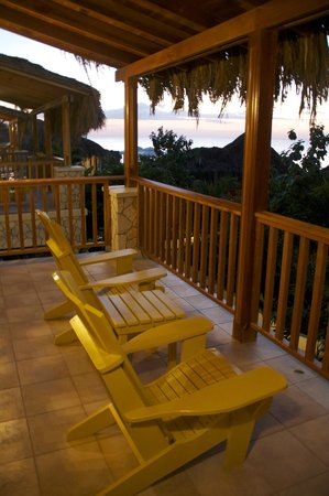 The SPA Retreat Boutique Hotel : Our room's balcony