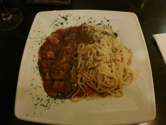 La Cantina: A Tasty Rolled Beef Meal