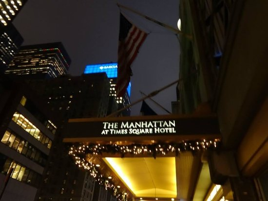 The Manhattan at Times Square Hotel: Best hotel!