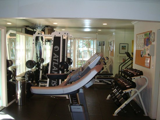 Pineapple Point Guest House and Resort: Gym