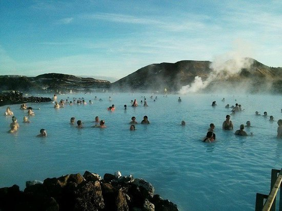 View over the Blue Lagoon Spa