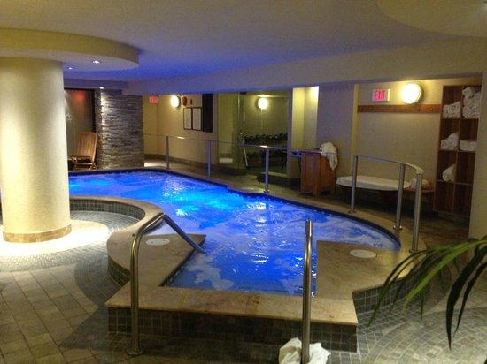 Banff Caribou Lodge & Spa: Spa-ruimte onder Hotel Caribou in Banff.
