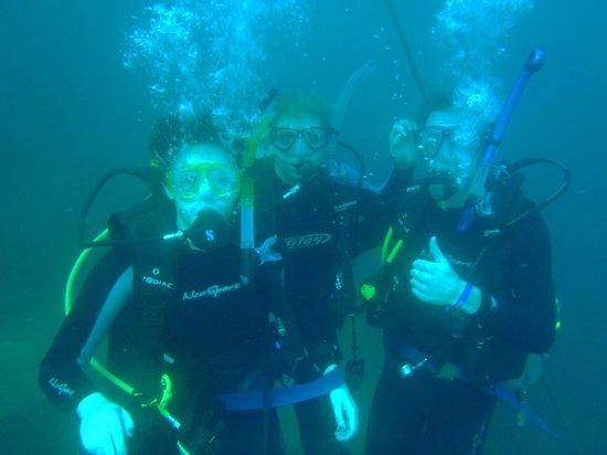 Dive Cabo: sand falls