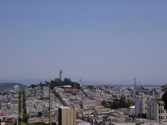 Four Seasons Hotel San Francisco : Coit Tower