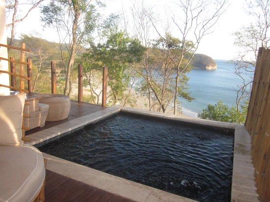 Mukul Beach Golf & Spa: View from our deck Bohio #24