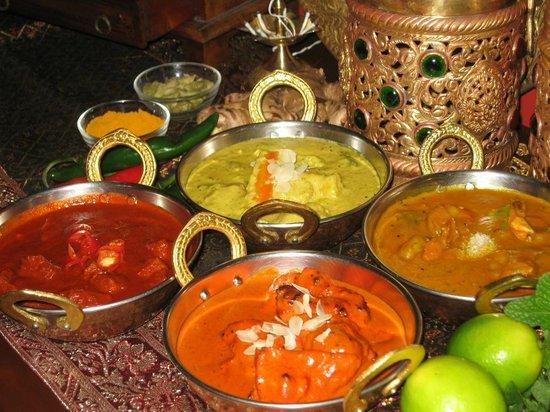 Magic of India Restaurant: Popular Curries