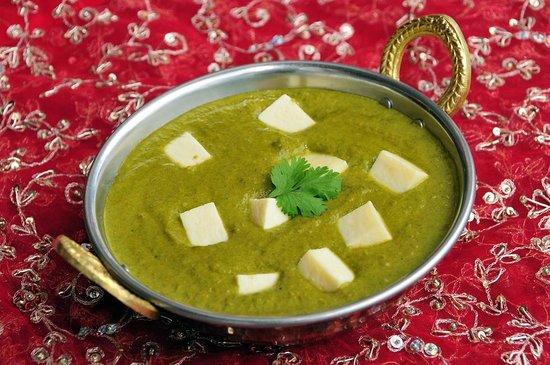 Magic of India Restaurant: Palak Paneer