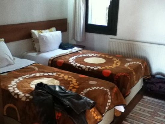 Hotel Akay: Our beds in a twin room