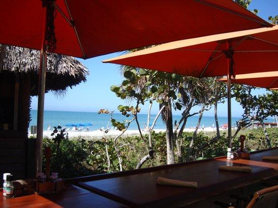 The Ritz-Carlton, Naples: Hotel bar by the beach
