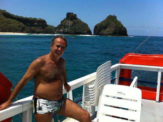 Pousada Maravilha : Passeio de barco na Ilha