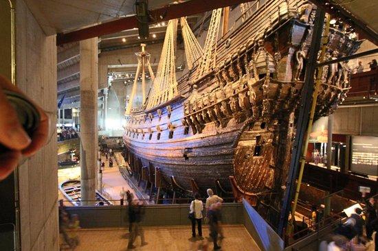Vasa-Museum: massive