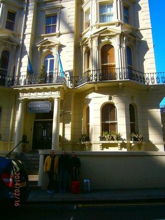 Kensington House Hotel: Fachada