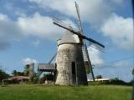 Village de Menard : L'ile aux moulins