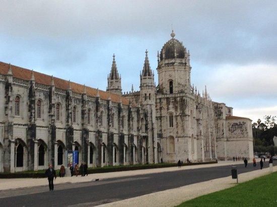 Monastère des Hiéronymites : Fachada