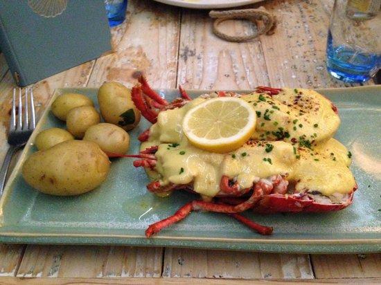 Tanroagan Seafood Restaurant: Lobster Thermidore