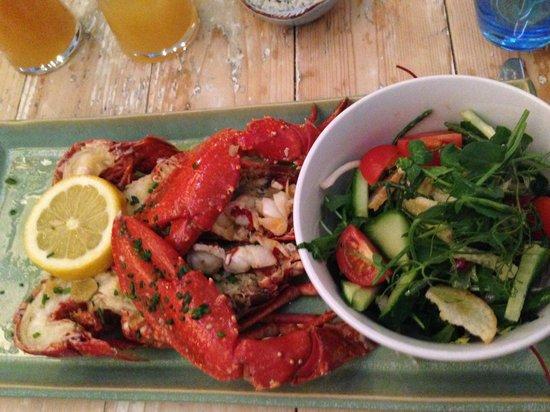 Tanroagan Seafood Restaurant: Lobster with Garlic Butter