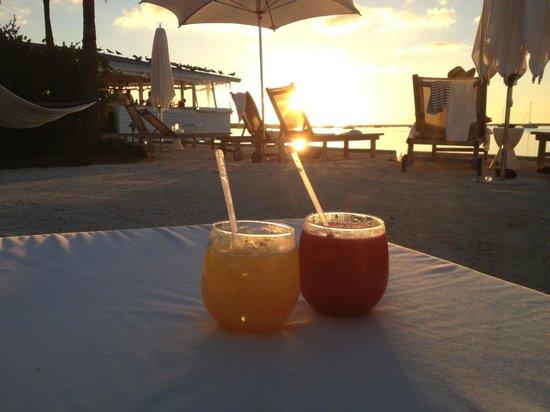 sunset drinks at Casa Morada