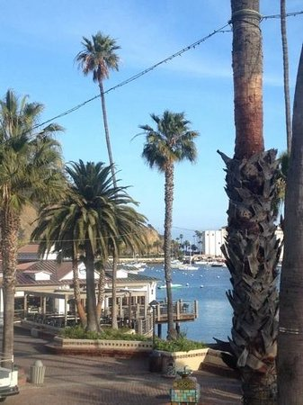 Snug Harbor Inn: View from San Nicolas room