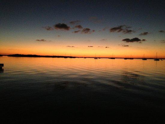 sunset at Casa Morada