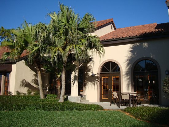 Villas of Grand Cypress : Villa rear exterior