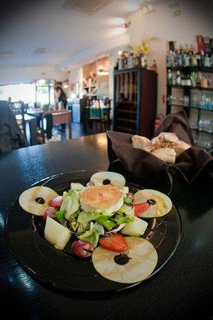 Restaurante Salmantice : Ensalada de Queso