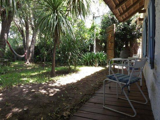 Posada Valizas: Garden View from Inn