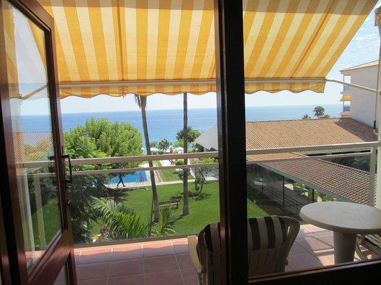 Parador de Nerja: Balcony & View from room