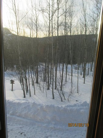Caribou Highlands Lodge: view to outside