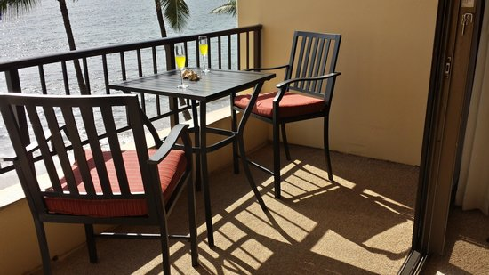 Sugar Beach Resort: Lanai overlooking Beach at Unit 433