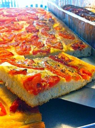 PRONTO Italian Street Food: Tomato and oregano focaccia