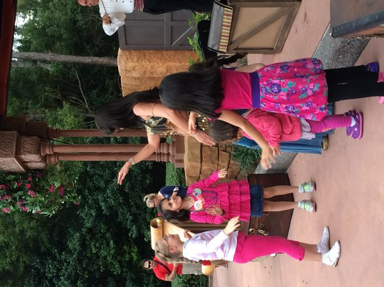 Epcot: 6.  Totally enraptured!