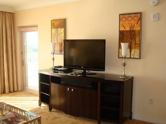 Waldorf Astoria Orlando : Living room TV
