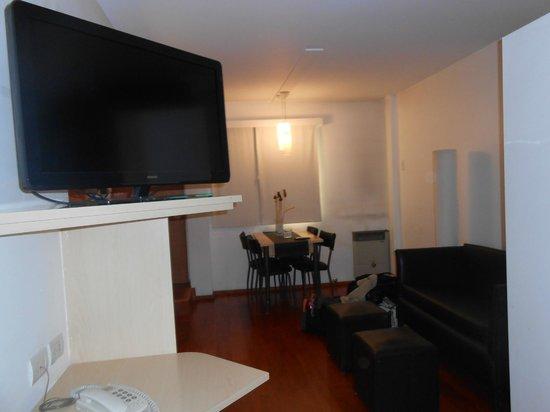 Rio Grande Apart Hotel : Doble twin