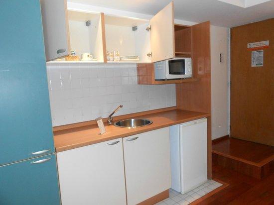 Rio Grande Apart Hotel : Cocina