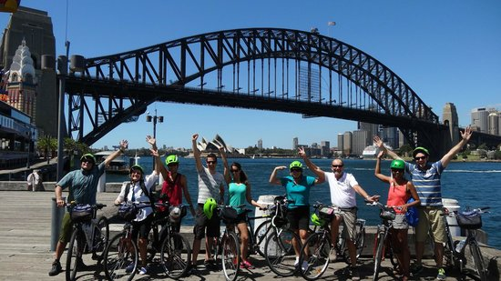 Bike Buffs - Sydney Bicycle Tours: One of the many photo stops during the day