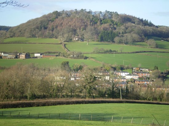 Buckley Farmhouse: View from terrace