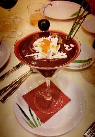 Tanicos: Gazpacho de Cerezas