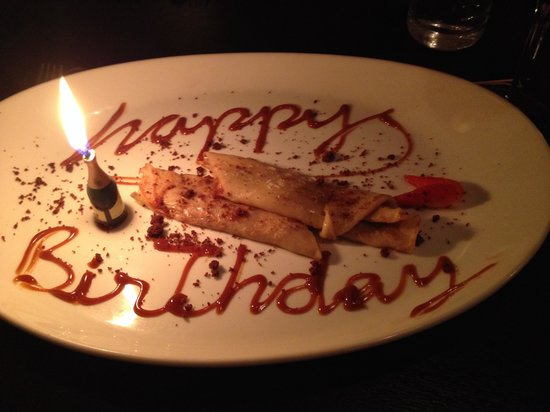 The Bull Steak Expert: Birthday surprise