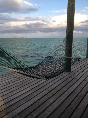 Small Hope Bay Lodge: My first favorite hammock