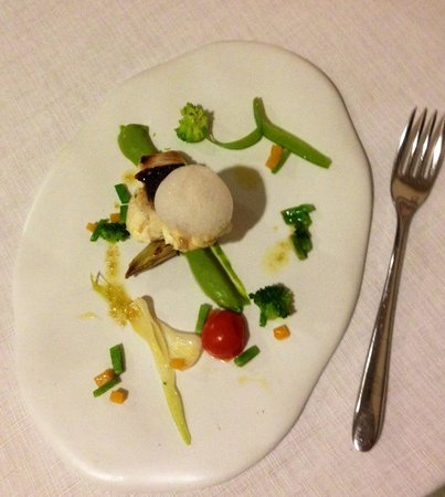 La Forquilla: One of the many delights of the tasting menu