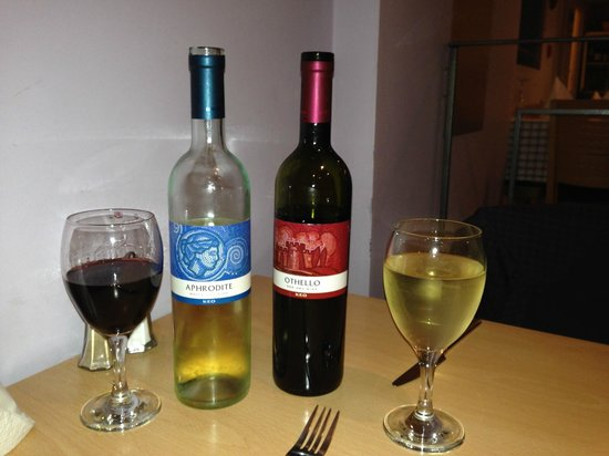 Gabby's Greek Taverna : Great Wine