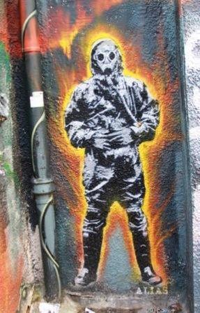 Bristol Street Art Tours: burning