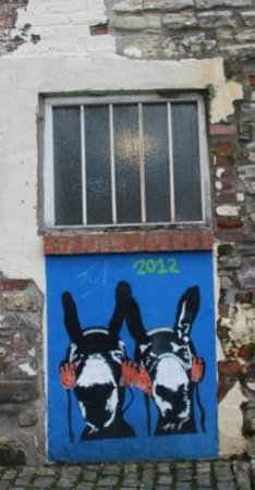 Bristol Street Art Tours: donkeys
