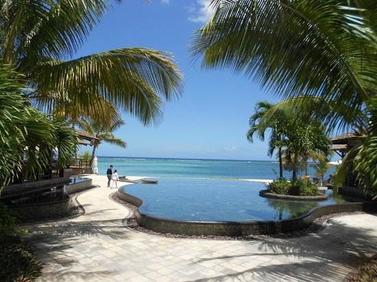 LUX Le Morne : View from the hotel reception
