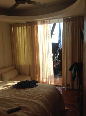 WaterColors Boracay Dive Resort: Looking out of the doorway