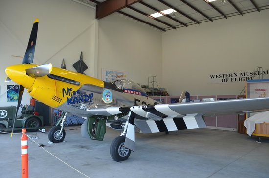 Western Museum of Flight : A real gem. A vintage P-51 Mustang which still flys.