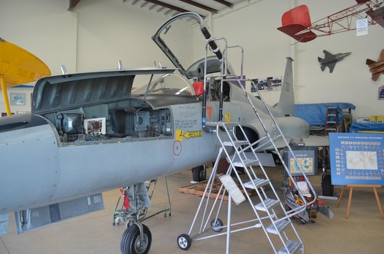 Western Museum of Flight: You can actually sit in this old jet fighter. Neat!