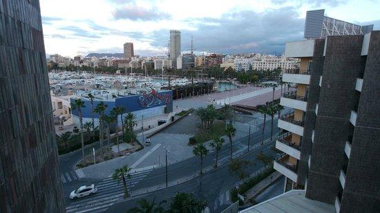 Hotel Spa Porta Maris & Suites del Mar: View from balcony
